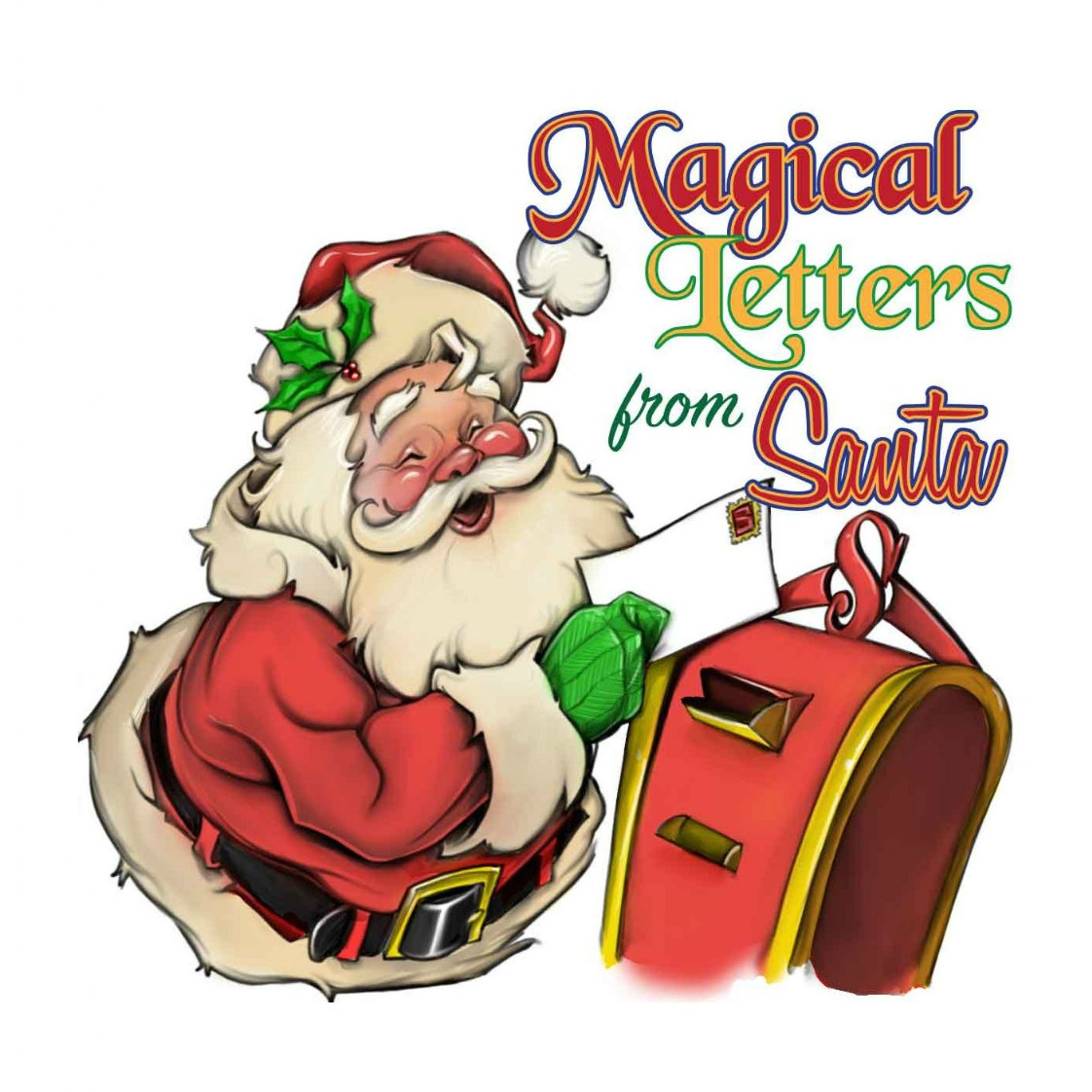 magical letters from santa - From Santa